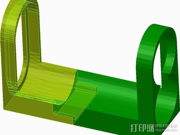 索尼相机支架 3D模型  图1