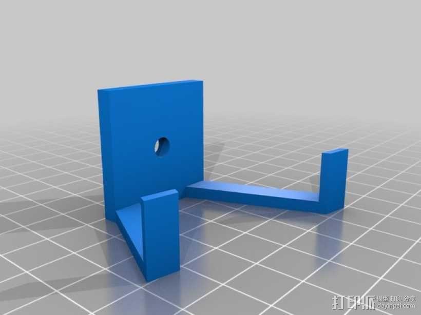 扬声器 喇叭 底座 3D模型  图1