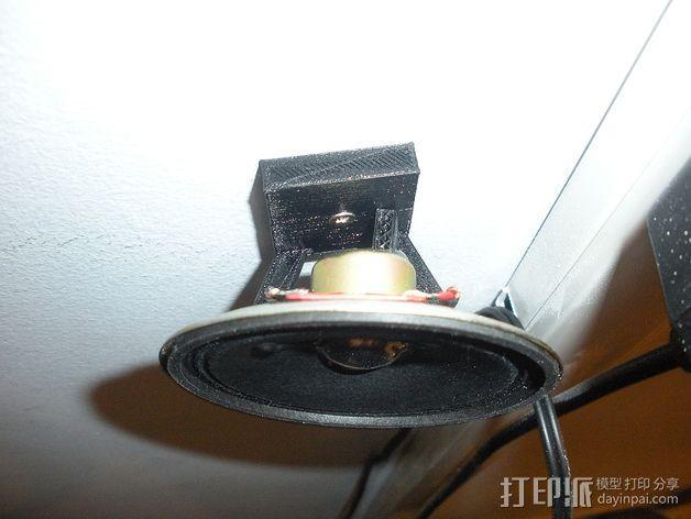扬声器 喇叭 底座 3D模型  图3
