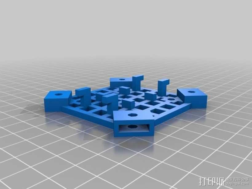 模块化四轴飞行器框架 3D模型  图5