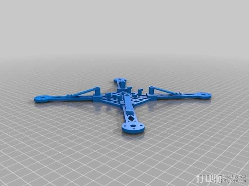 模块化四轴飞行器框架 3D模型  图7