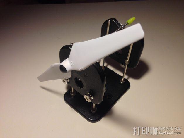 螺旋桨平衡装置 3D模型  图1