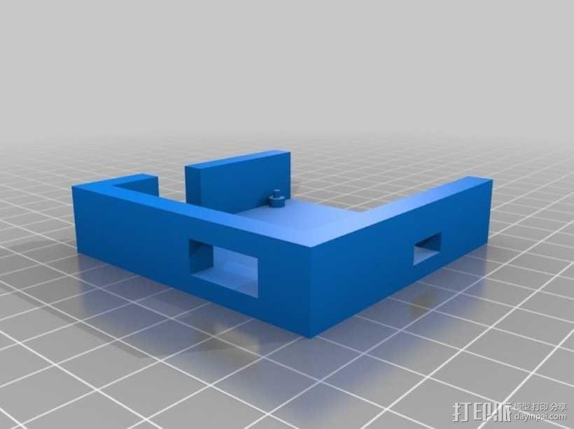 martinez电路板外壳 3D模型  图1