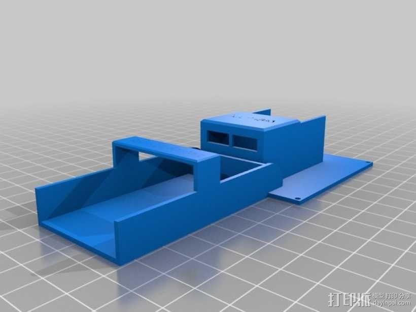 martinez电路板外壳 3D模型  图2
