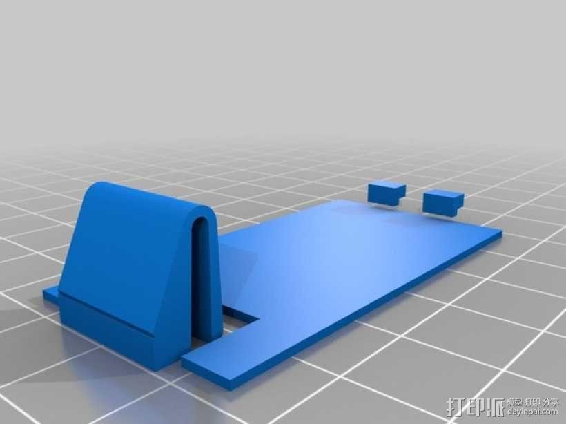 定制化电池盖 3D模型  图1
