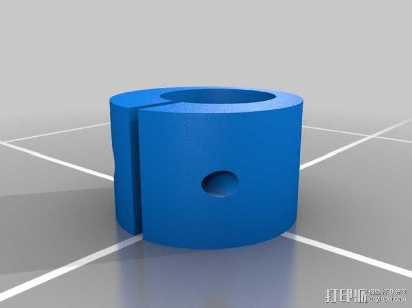 偏心夹  3D模型  图1