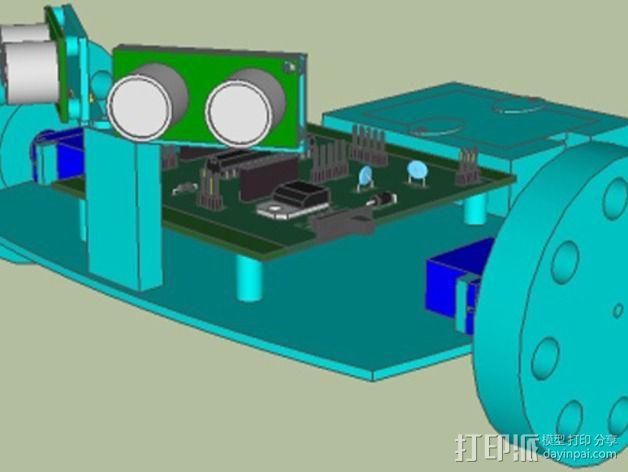 SFRNEC机器人 3D模型  图2