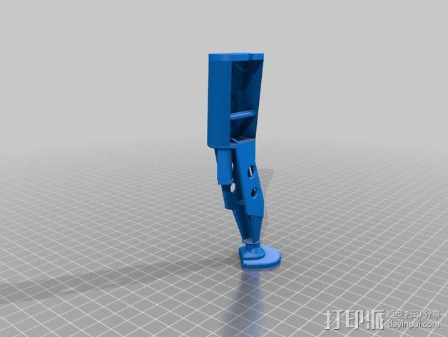 起落架延展装置 3D模型  图1