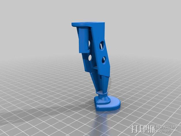 起落架延展装置 3D模型  图2