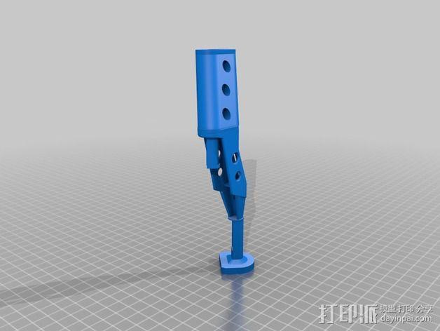 起落架延展装置 3D模型  图4