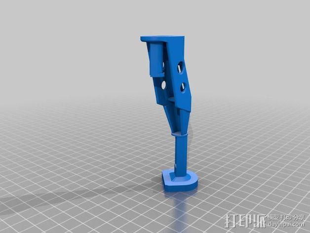 起落架延展装置 3D模型  图5