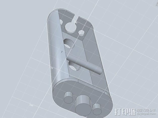 起落架延展装置 3D模型  图14