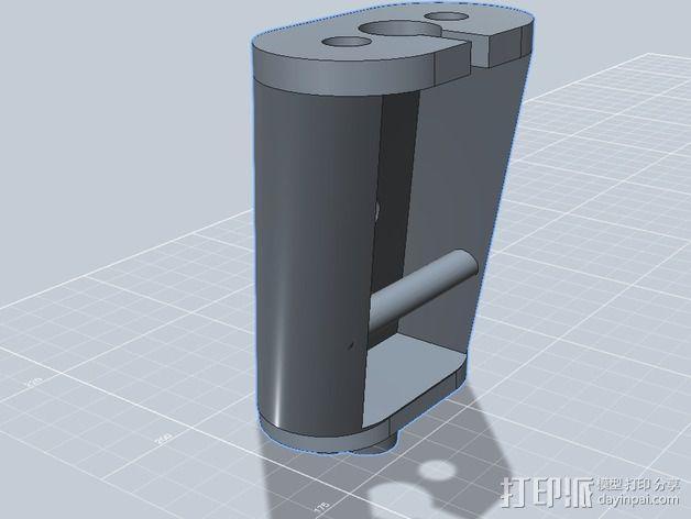 起落架延展装置 3D模型  图13
