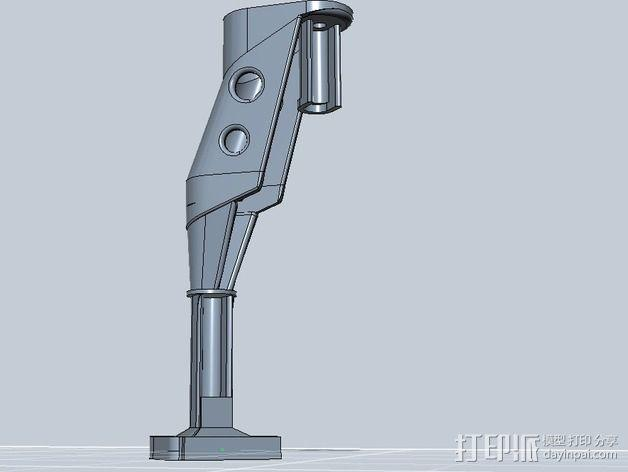 起落架延展装置 3D模型  图16
