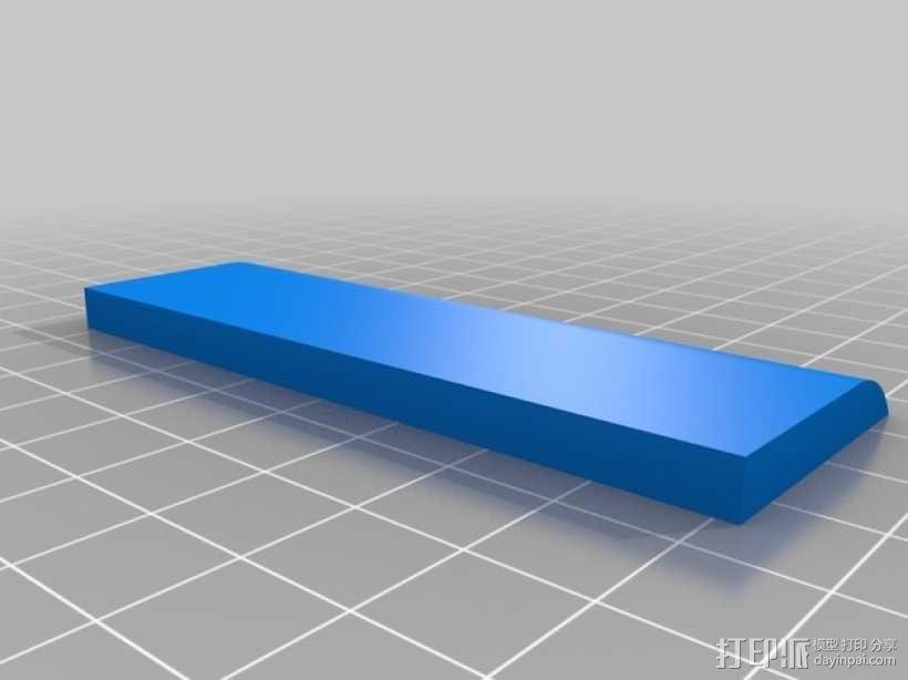 树莓派和Adafruit PiTFT支架 3D模型  图7