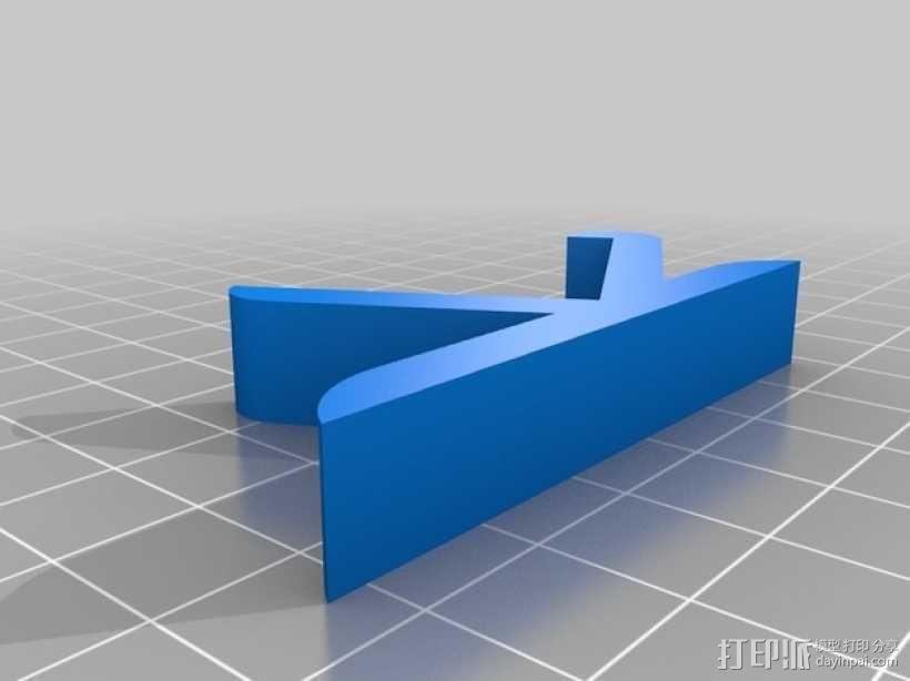 树莓派和Adafruit PiTFT支架 3D模型  图8