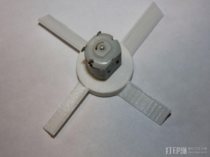 风扇叶片 3D模型  图1