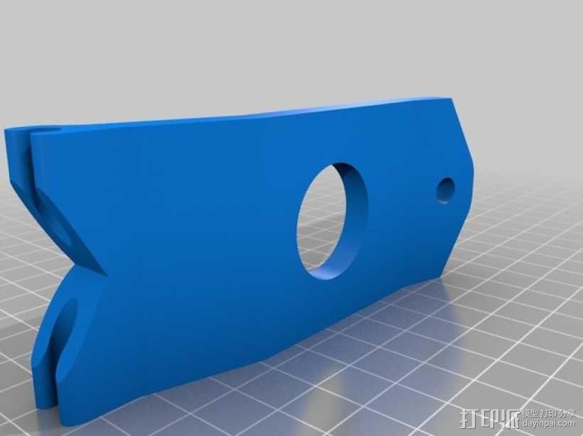 FPV显示器支架 3D模型  图1
