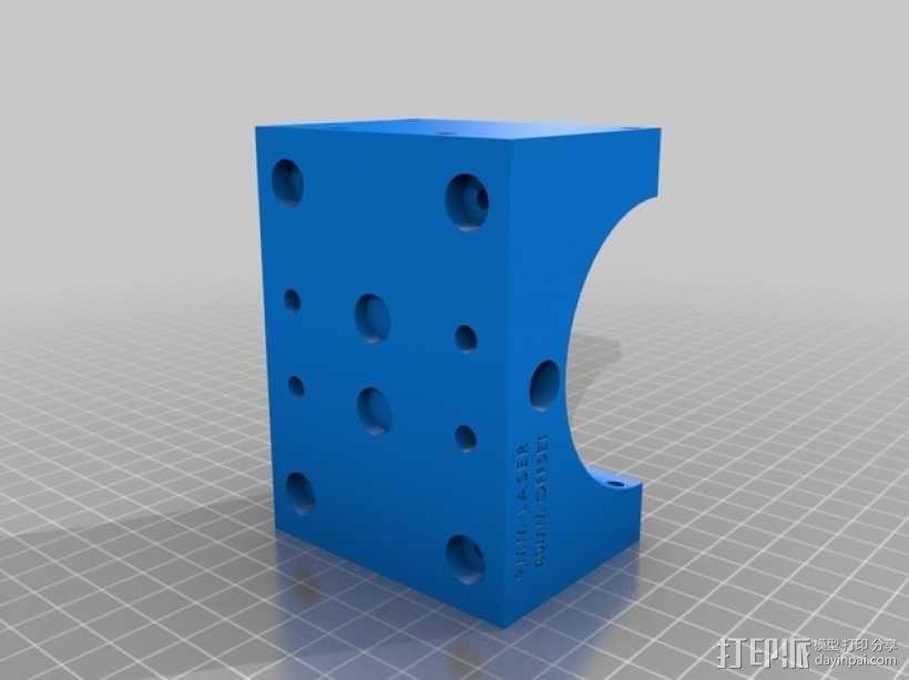ShapeOko2数控设备主轴支架 3D模型  图17