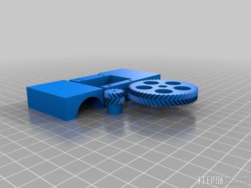 四缸发动机  3D模型  图1