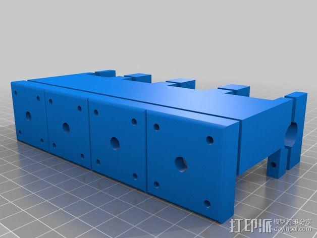 四缸发动机  3D模型  图3