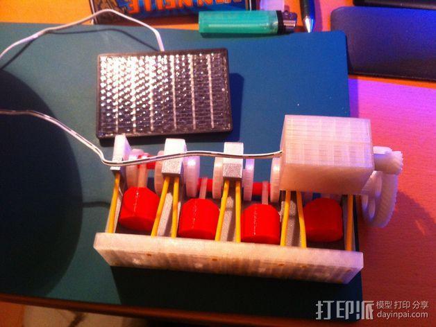 四缸发动机  3D模型  图4