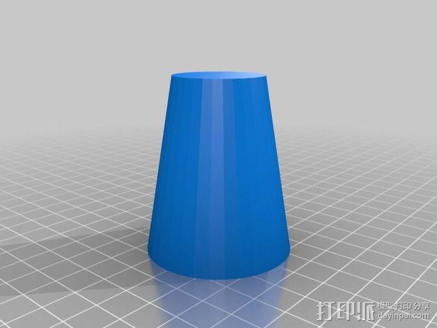 熔岩灯 灯罩 3D模型  图1