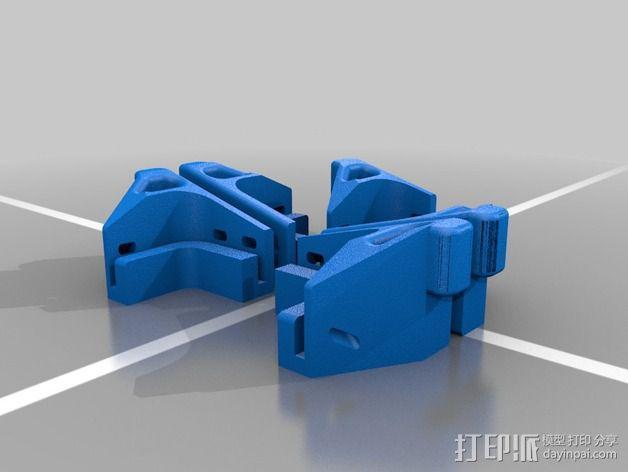 起落架 底座 3D模型  图2