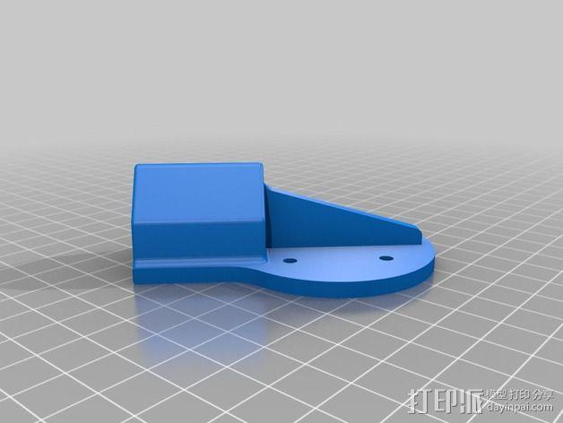 多轴飞行器蝶形尾部 3D模型  图18