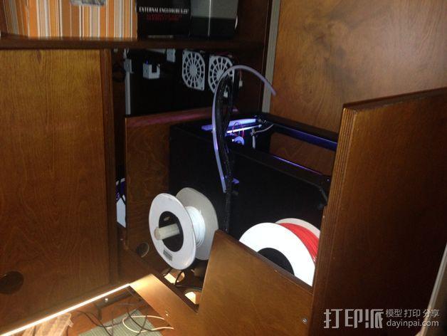 橱柜改装装置 3D模型  图10