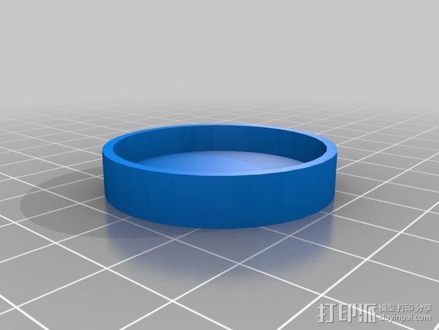 Adafruit GEMMA电路板外壳 3D模型  图5