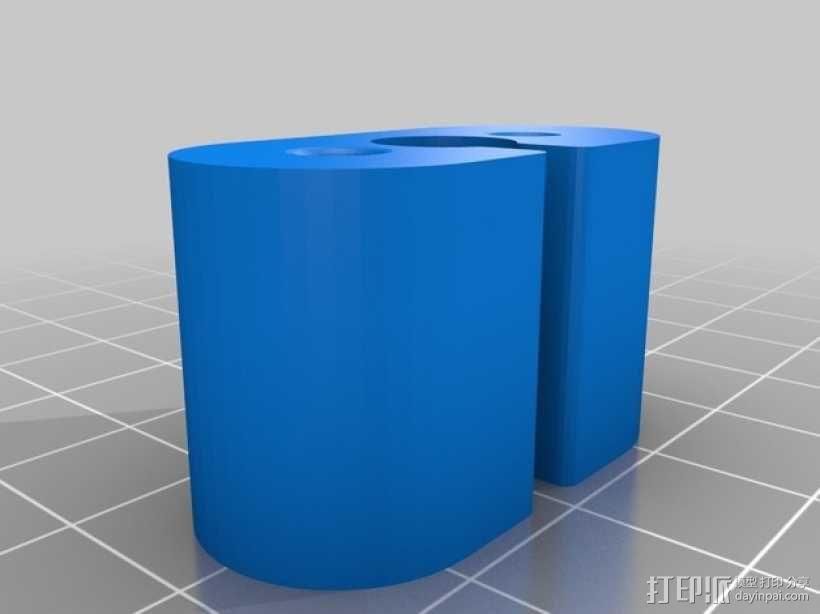 多轴飞行器 相机支架 3D模型  图3
