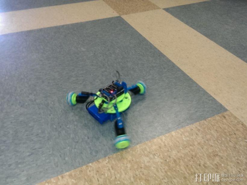 万向轮机器人 3D模型  图6