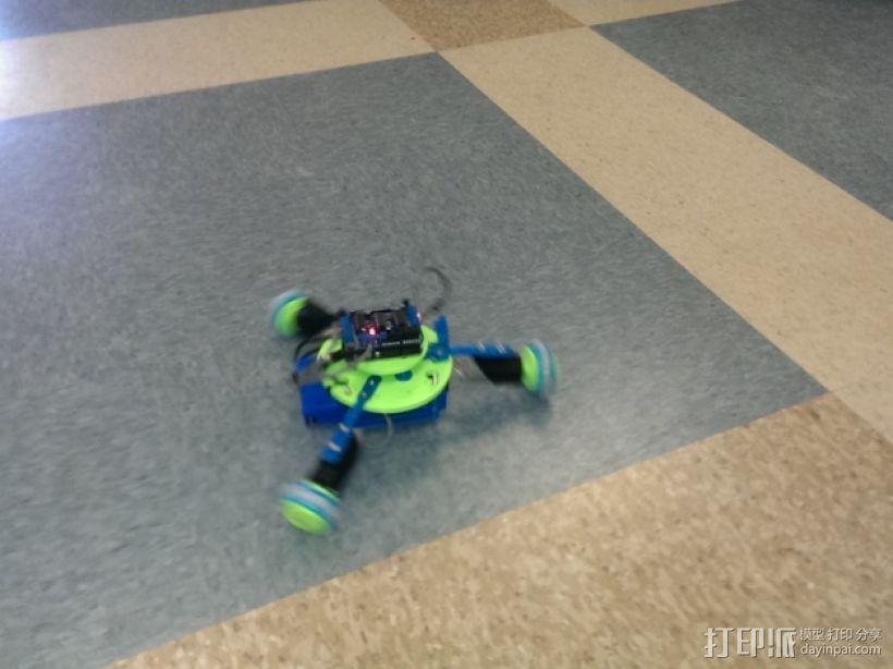 万向轮机器人 3D模型  图5