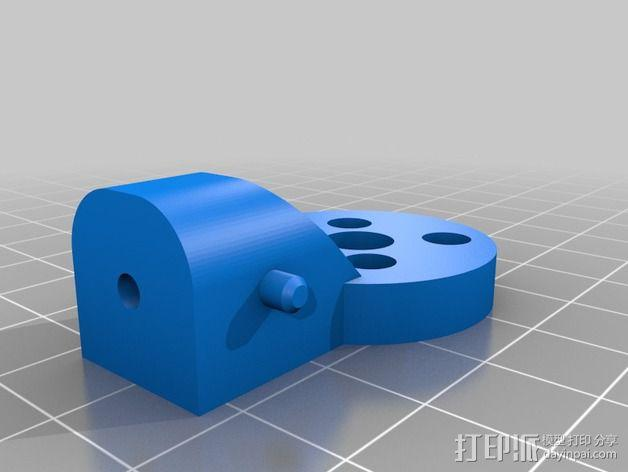 三轴飞行器零部件 3D模型  图3