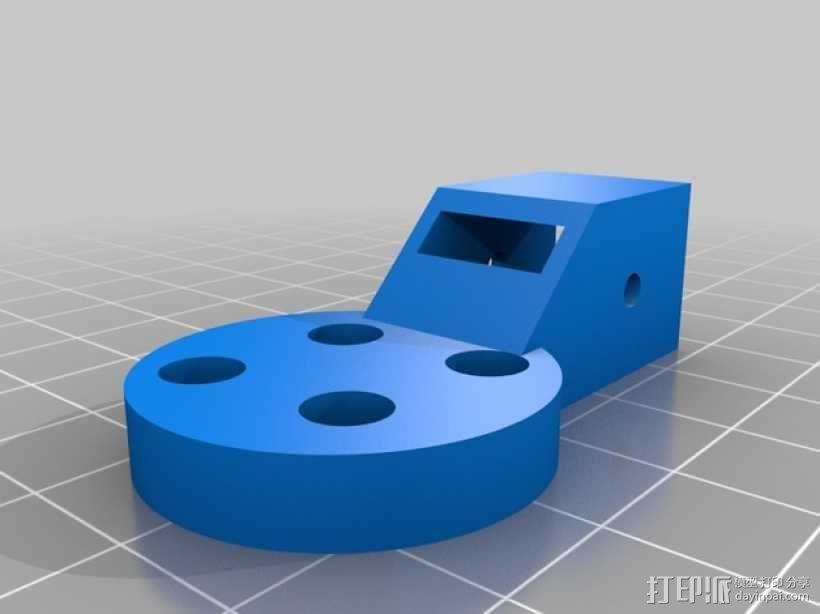 三轴飞行器零部件 3D模型  图5