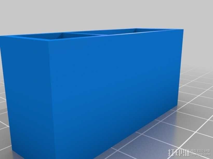 三轴飞行器零部件 3D模型  图4