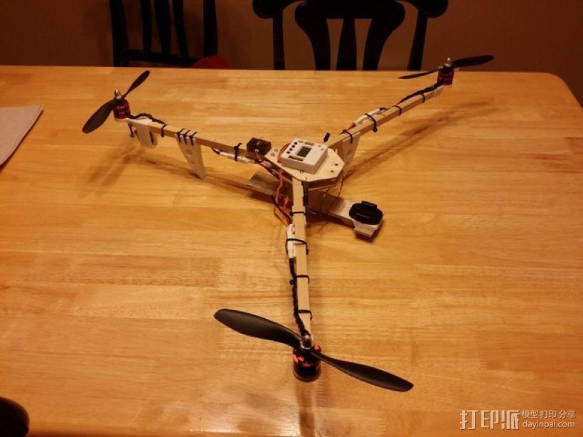 三轴飞行器零部件 3D模型  图7