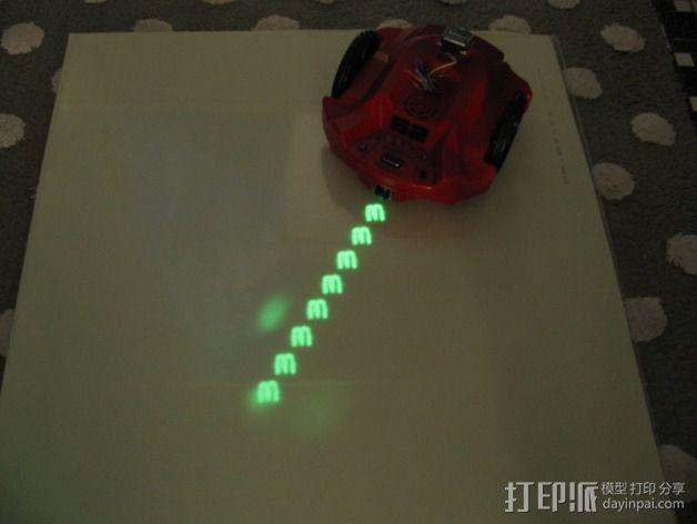 S2书写机器人零部件 3D模型  图9