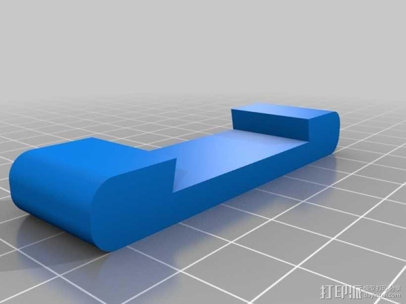 手动砂磨机  3D模型  图2