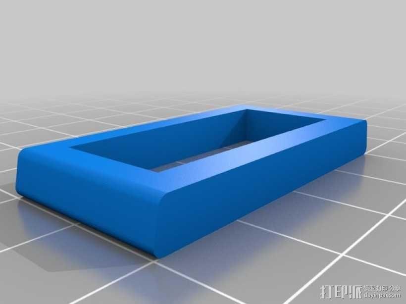 手动砂磨机  3D模型  图3