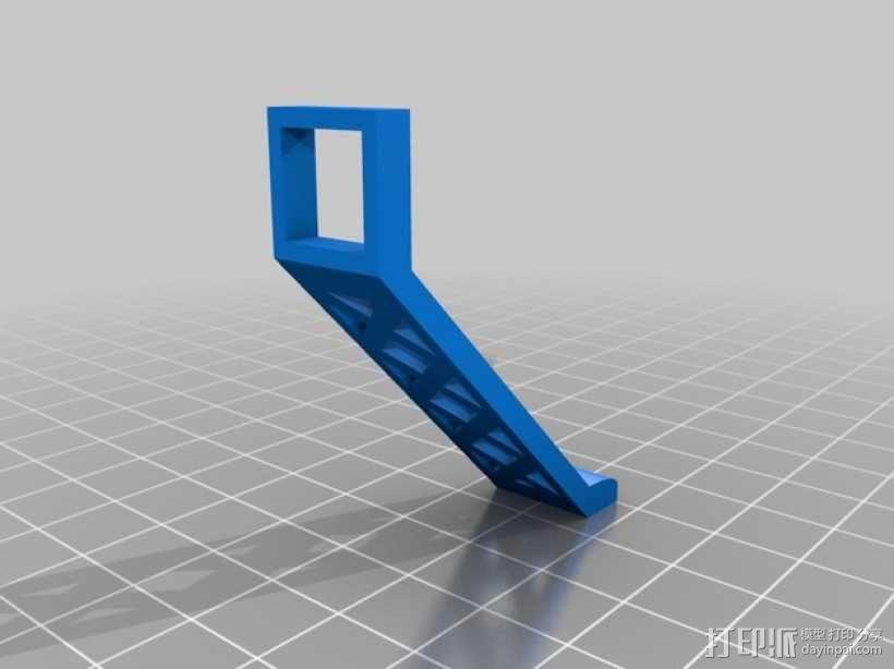 迷你四轴飞行器 起落架 3D模型  图2