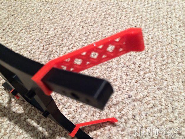 迷你四轴飞行器 起落架 3D模型  图3