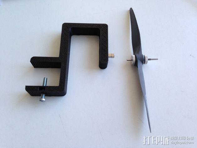 螺旋桨均衡器 3D模型  图3