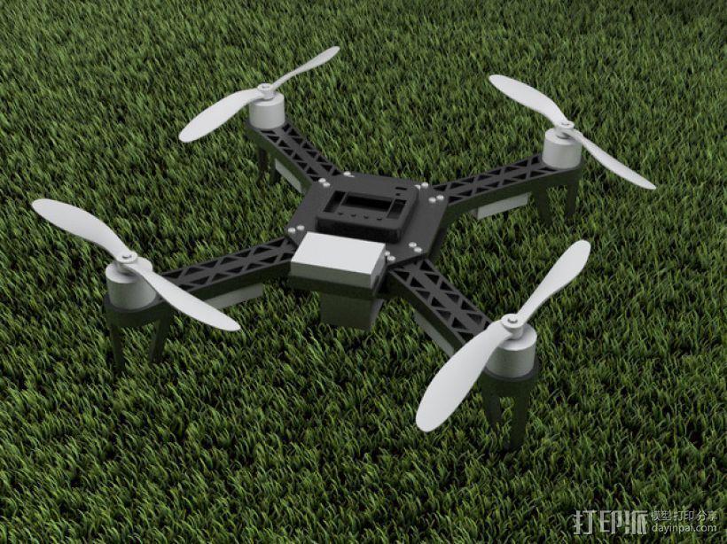 QX380四轴飞行器 3D模型  图1