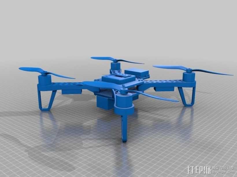 QX380四轴飞行器 3D模型  图9
