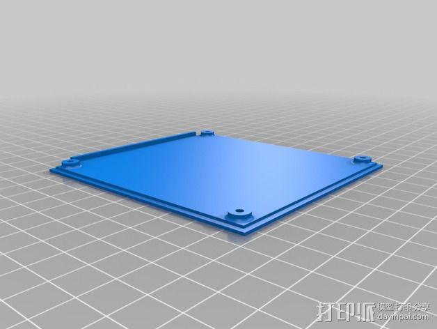 继电器外壳 3D模型  图2