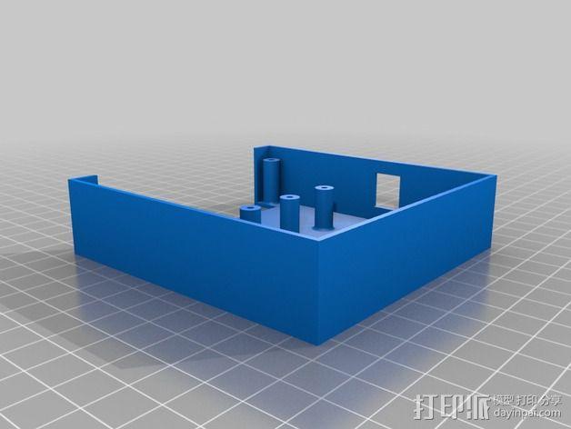 继电器外壳 3D模型  图3