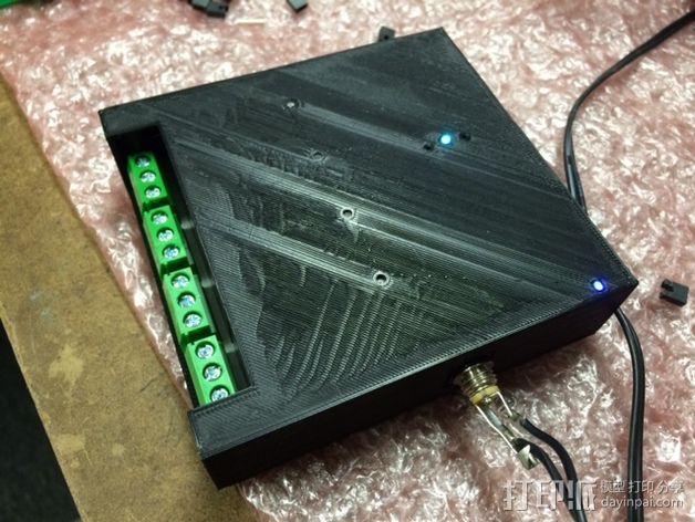 继电器外壳 3D模型  图6