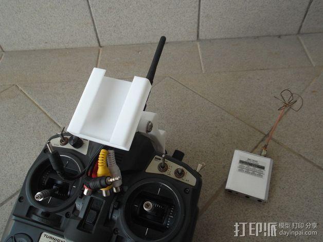 Turnigy 9X无线电发射机  3D模型  图2